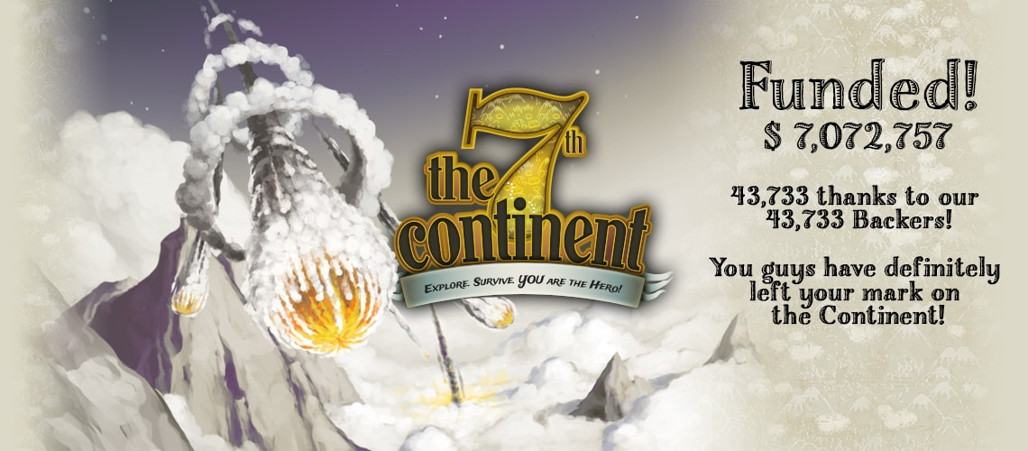 The 7th Continent is back on Kickstarter!